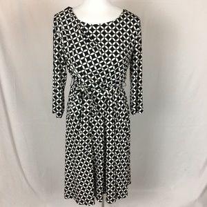 Coldwater Creek, print dress, size 12, NWT